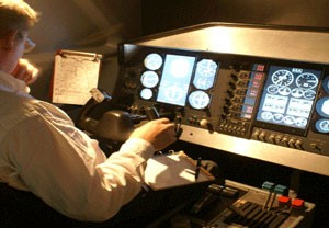 Simulateur de vol en avion – Grenoble