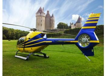 Vol en helicoptere au Val de Loire – Amboise